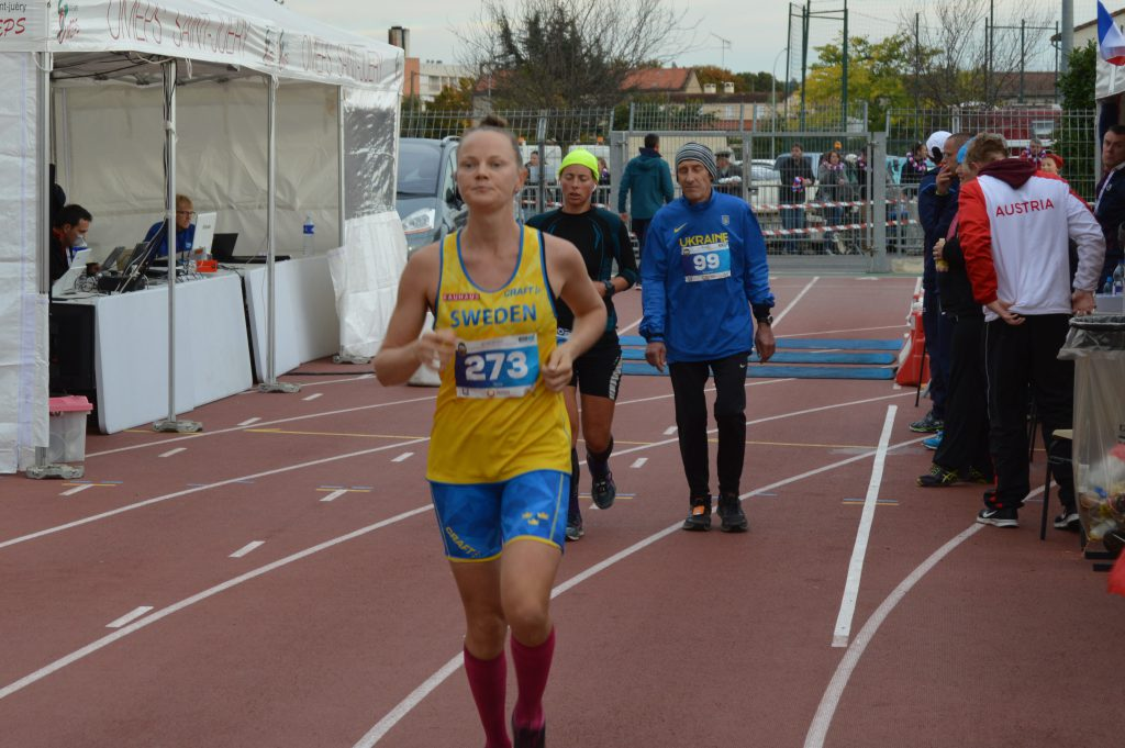 Maria Jansson, 250,647 km! Ny europæisk rekord.