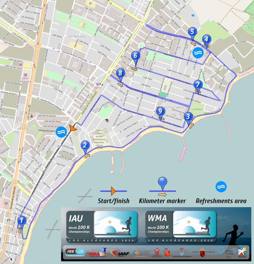 VM rute 100 km